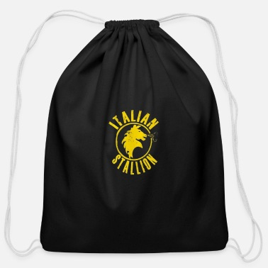 Stallion Italian Stallion - Cotton Drawstring Bag