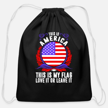 This Is America This Is America - Cotton Drawstring Bag