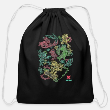 Nintendo gaming nintendo - Cotton Drawstring Bag