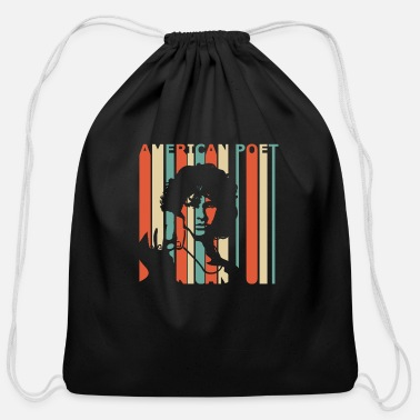 Poet American Poet - Cotton Drawstring Bag