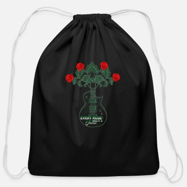 Single Speed No hay rosa sin espinas every rose has its thorn - Cotton Drawstring Bag