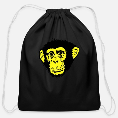 Chimpanzee Chimpanzee - Cotton Drawstring Bag
