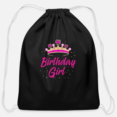 Birthday Present Birthday Girl Gift Idea Birthday Party - Cotton Drawstring Bag