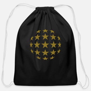 Stars - Cotton Drawstring Bag