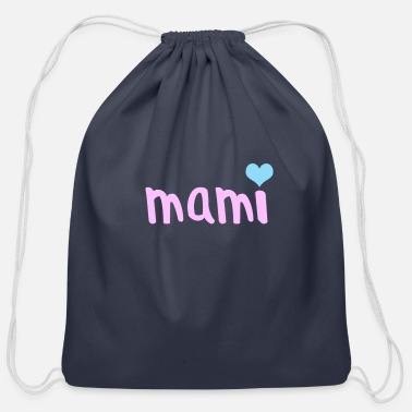 Mami mami - Cotton Drawstring Bag