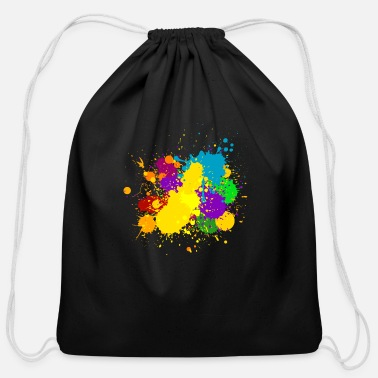 Ink ink - Cotton Drawstring Bag