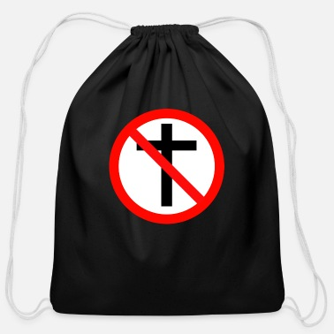 Religion No Religion - Cotton Drawstring Bag