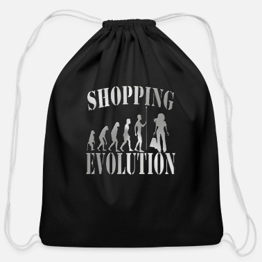 Shops Shopping - Cotton Drawstring Bag