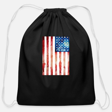New Age New Age of Slavery - Cotton Drawstring Bag