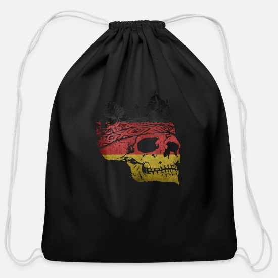 Federal Republic Of Germany Bags & Backpacks - Germany - Cotton Drawstring Bag black