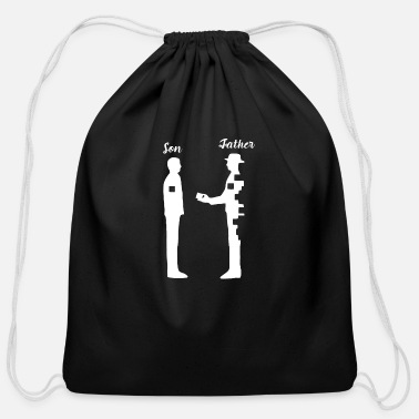 Father And Son Father And Son - Cotton Drawstring Bag