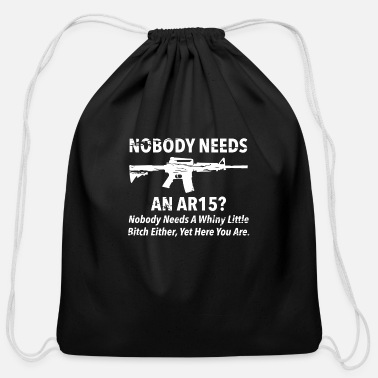 Ar15 NEEDS AR15 - Cotton Drawstring Bag