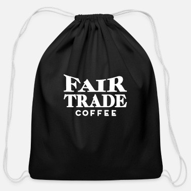 Trade Fair Fair trade coffee - Cotton Drawstring Bag