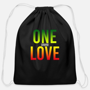 One Love ONE LOVE - Cotton Drawstring Bag
