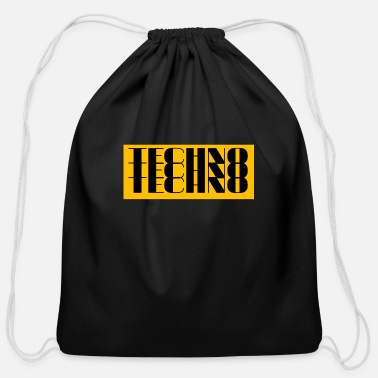 Techno techno techno techno - Cotton Drawstring Bag