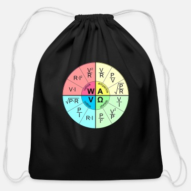 Radio ohm's law - Cotton Drawstring Bag