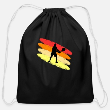 Cool Tennis colored - Cotton Drawstring Bag