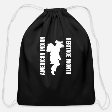 American Indian AMERICAN INDIAN - Cotton Drawstring Bag