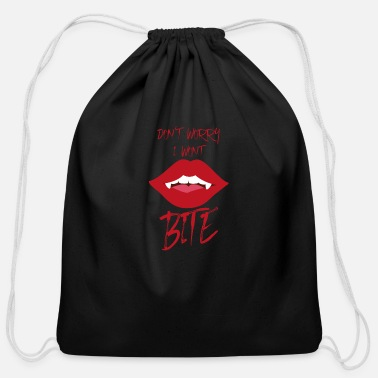 Magic Vampire Halloween Party Fall Gift - Cotton Drawstring Bag