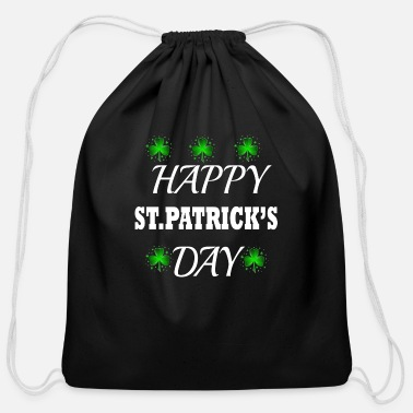 Page Happy St patrick Day - Cotton Drawstring Bag