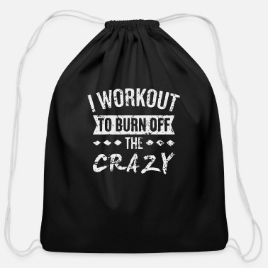 Funny Gym Funny gym quote - Cotton Drawstring Bag