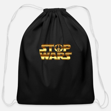 Stop Ball stop - Cotton Drawstring Bag