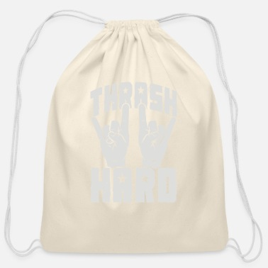 Thrash THRASH HARD - Cotton Drawstring Bag