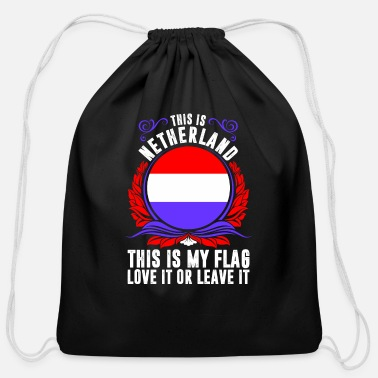 Netherlands This Is Netherland - Cotton Drawstring Bag