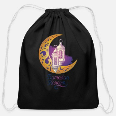 Ramadan Ramadan tshirt/Ramadan clothing/ramadan accessory - Cotton Drawstring Bag