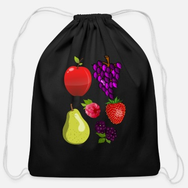 Fruits fruits - Cotton Drawstring Bag