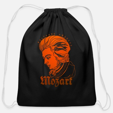 Mozart Mozart Portrait - Cotton Drawstring Bag