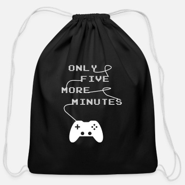 Just Only Five More Minutes - Cotton Drawstring Bag