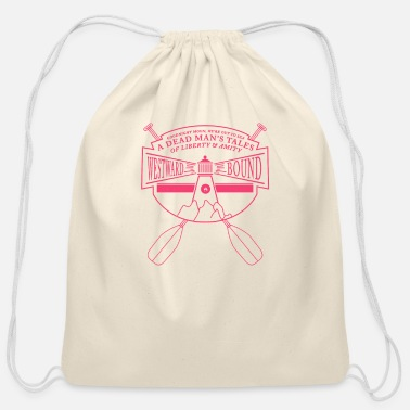 Bound Westward Bound - Cotton Drawstring Bag