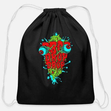 Drop Drop drop drop - Cotton Drawstring Bag