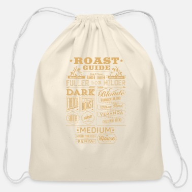 Roast Roast guide - Cotton Drawstring Bag