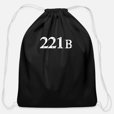 221b Baker Street 2 221b Baker Street 2 - Cotton Drawstring Bag