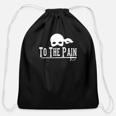 Pain To The Pain - Cotton Drawstring Bag