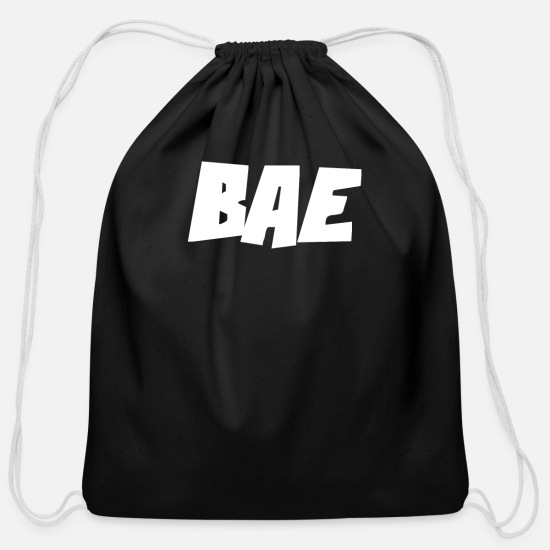 Funny Bags & backpacks - BAE Funny - Cotton Drawstring Bag black