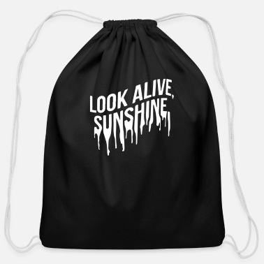 Look Alive Look Alive - Cotton Drawstring Bag