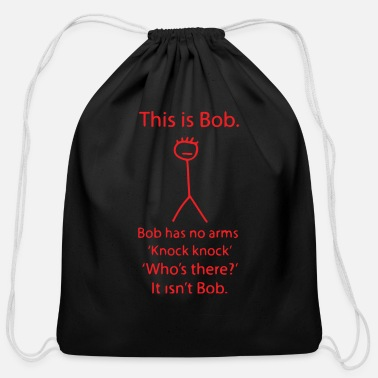 Bob This Is Bob - Cotton Drawstring Bag