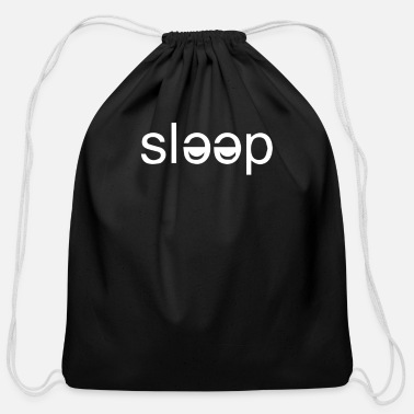 Sleep In Sleep - Cotton Drawstring Bag