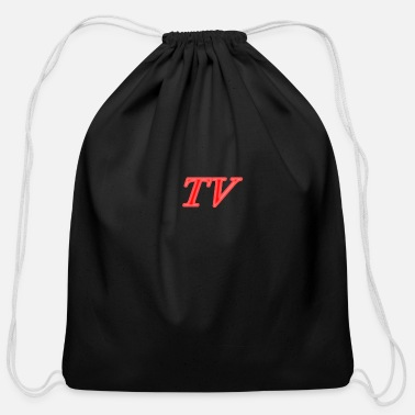 Tv tv - Cotton Drawstring Bag