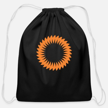 Circular Circular Sun - Cotton Drawstring Bag