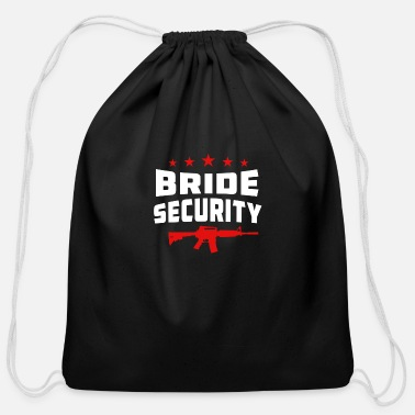 Bride Security Bride Security - Cotton Drawstring Bag