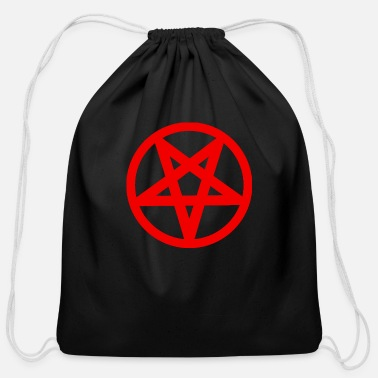 Satanic Satanism - Cotton Drawstring Bag