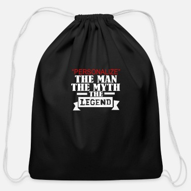 Person PERSONALIZE - Cotton Drawstring Bag