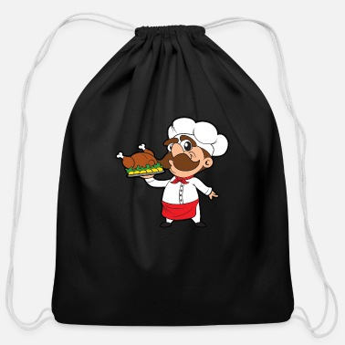 Restaurant Chef Restaurant - Cotton Drawstring Bag
