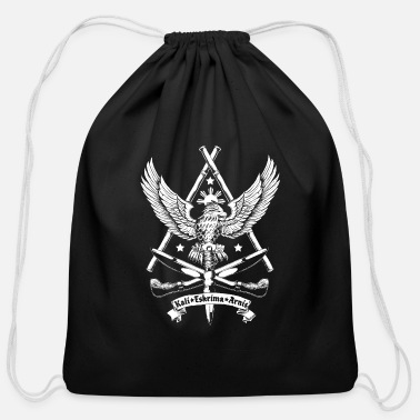 Arnis Filipino Martial Arts Eskrima Kali Arnis - Cotton Drawstring Bag