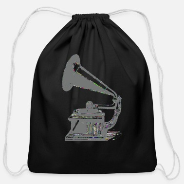 Turntable turntable - Cotton Drawstring Bag