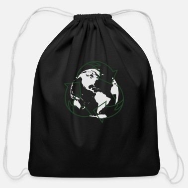 Earth Day - Cotton Drawstring Bag